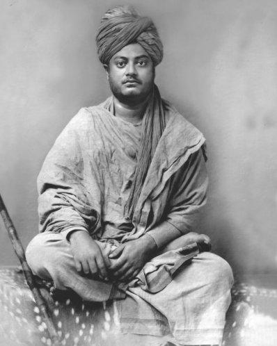 Swami Vivekananda (1863-1902) in Jaipur, 1891.